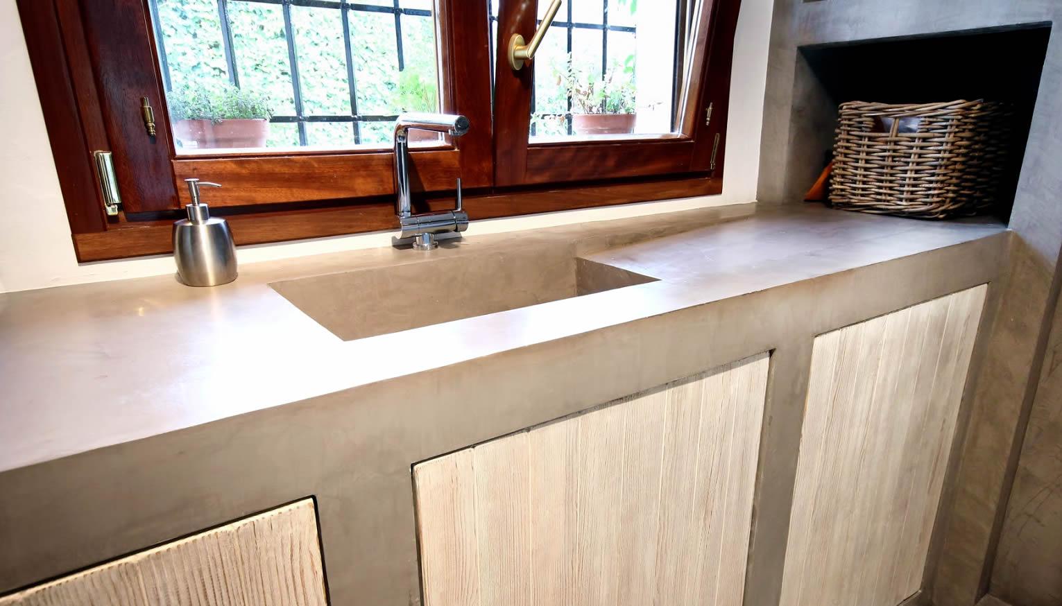 Beton cire op meubels beton cire zelf aanbrengen